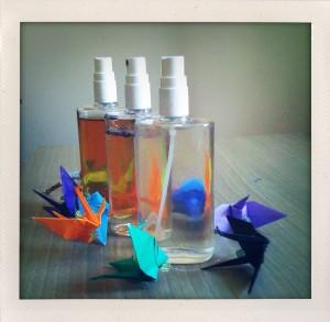 Paper cranes & toner
